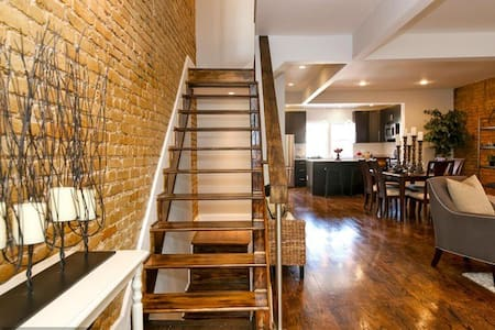 1BR in Rustic Rowhouse