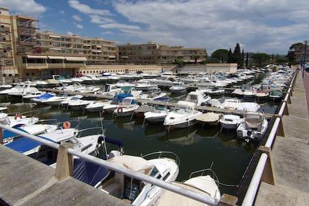 Studio dans marina avec piscine et proximité plage - Mandelieu-La Napoule