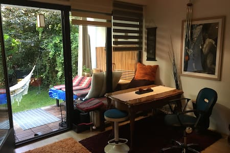 Cosy Flat with private garden and BBQ - Condominium