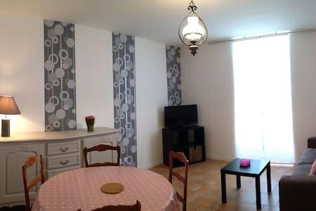 Appartement RDC avec cour privée - Bagnères-de-Bigorre - Apartemen