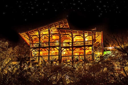 Bamboo Guest House in Tzununa, Lake Atitlan - Villa