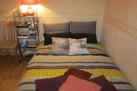 Chambre double sud ouest. - Hus