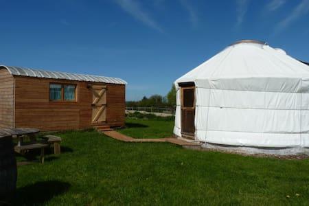 La Yourte Nature en Normandie - Fourneaux - Yurt