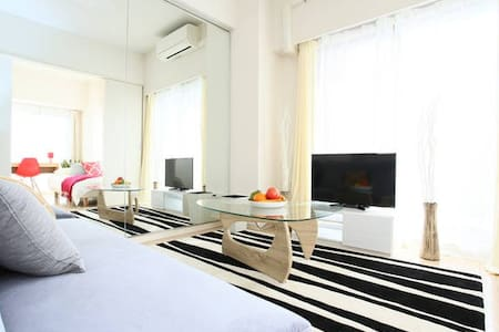 ☆Free Wife & near USJ☆2 mins Luxury clean 3 rooms - 大阪市 - Apartment