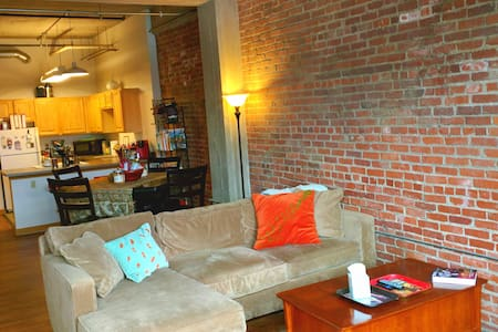 Downtown KC, MO Loft 2 bed/2 bath - Loft