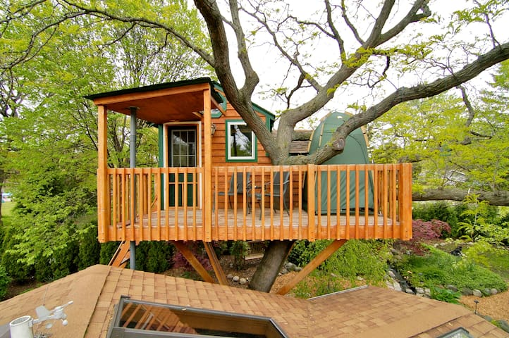 Enchanted Garden Treehouse (Amenity*) - Casa sull'albero
