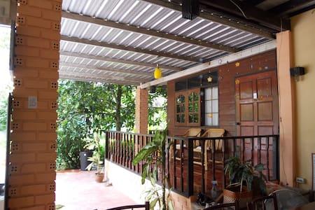 Homestay in garden at ThaChana