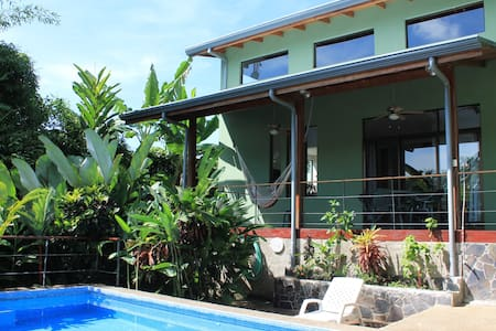 Casa BosqueVerde - Private Pool & Walk Everywhere - Quepos - House
