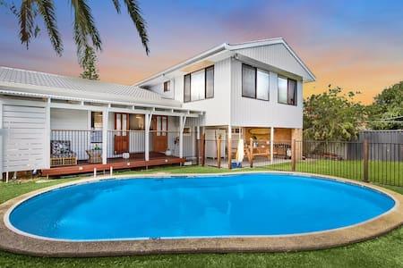 SummerSalt Family Beach House :) - Ballina - House