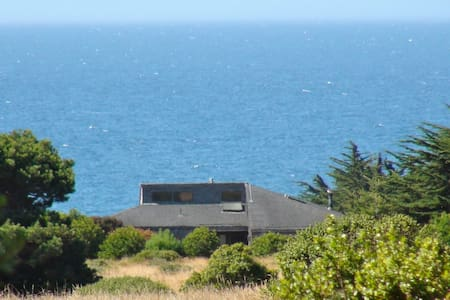 """Bella Vista"" -- panoramic vistas at Sea Ranch, CA - Ev"