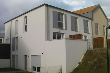 Duplex 10 min from Caen city center - Wohnung