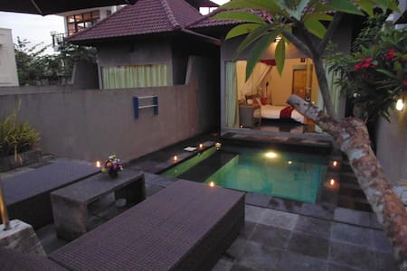 1 BR private pool near beach