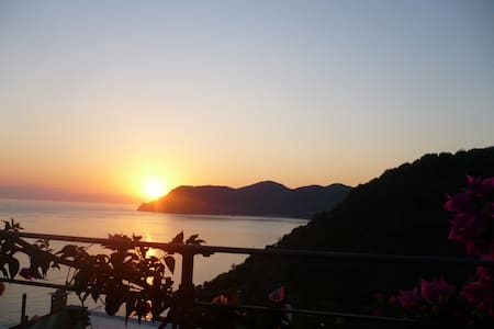 Historical apartment with sea-view - Corniglia - Wohnung