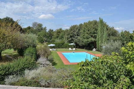 Chianti Romantic 8people big Flat with Pool - Huoneisto