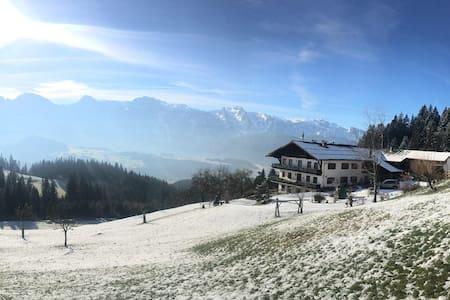 Gusti's Urlaub am Bauernhof mit Panorama - Abtenau - Guesthouse