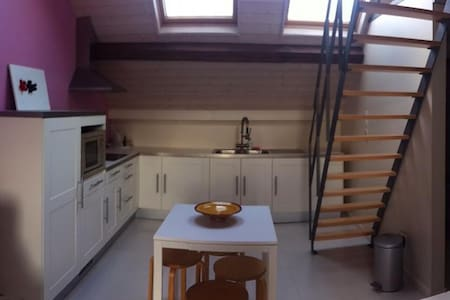 Gezellige studio in charmant huis. - Casa