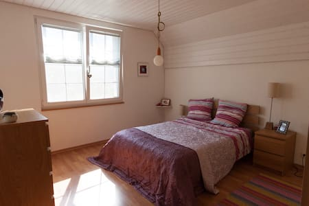 Cosy double room in family house - House