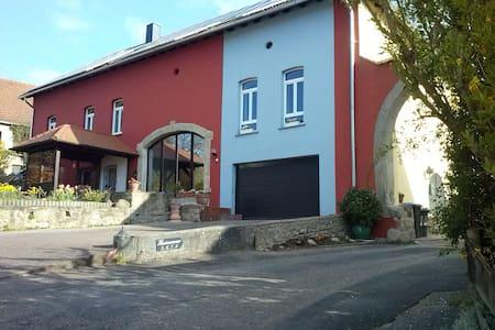 Gästehaus Neumühle/Mandelbachtal/EZ - Rumah