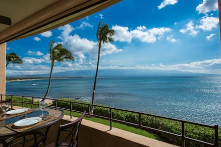 Romantic Oceanfront Maui Convenient - Maalaea - Apartment