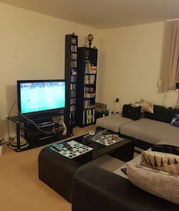 Big flat with fantastic Thames view - London - Apartemen