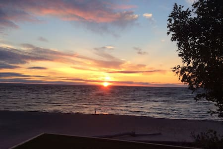 Site exceptionnel au Lac St-Jean avec plage privée - Saint-Gédéon