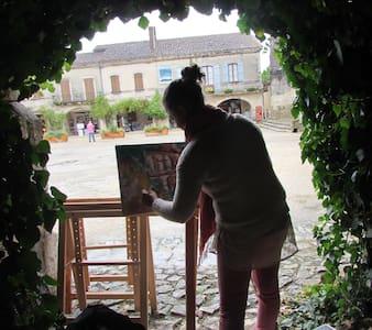 les volets rouges - Labastide-d'Armagnac - Gjestehus
