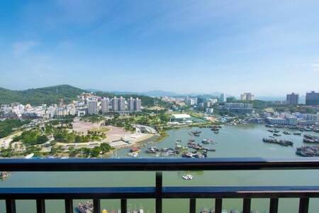 三亚大东海超高档小区时代海岸小区一室一厅河海双景观套房 - Appartamento