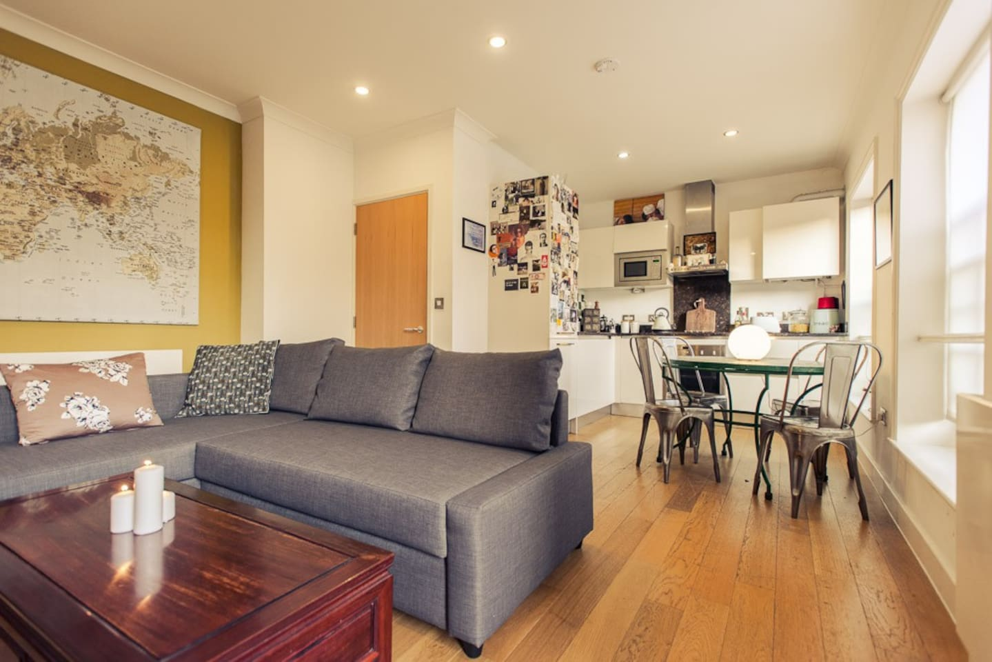 Beautiful TWO bed East London flat!