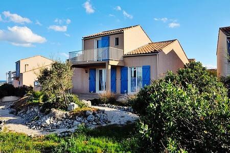Stylish villa near beach with pool