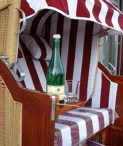 Ferienwohnung Meerblick Strandvilla - Apartment