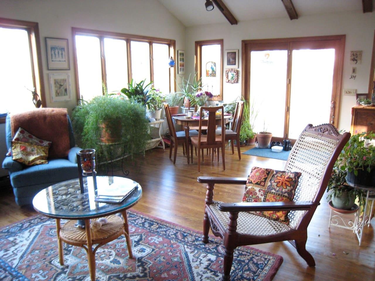 Family Room/Dining Area/Rear Entrance