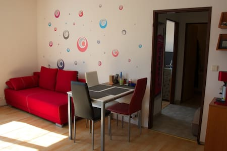 Shared room 20 min to the Prague city center - Apartment