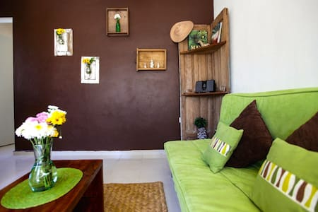 GREEN ONE BEDROOM HOUSE