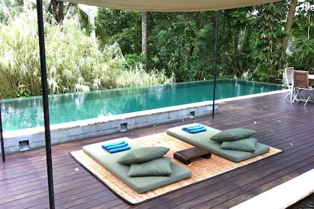 Lap of Luxury among Ubud's trees
