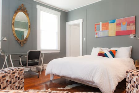LARGE BEDROOM IN HISTORIC DISTRICT