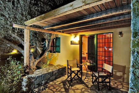 traditional  cottage with attic  - Zaros