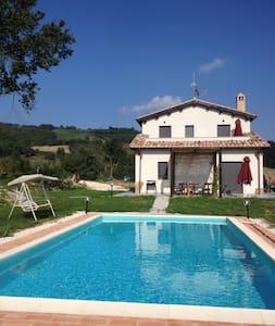 Heavenly Delux Villa by the lake - Amandola - Villa