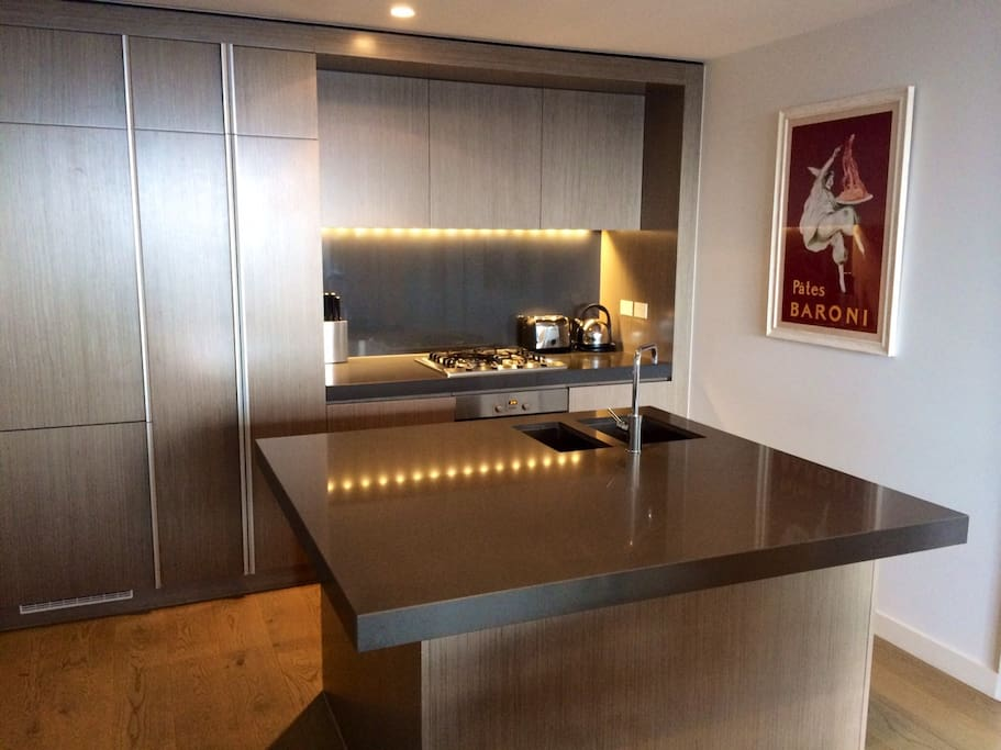 Luxury kitchen with everything you need