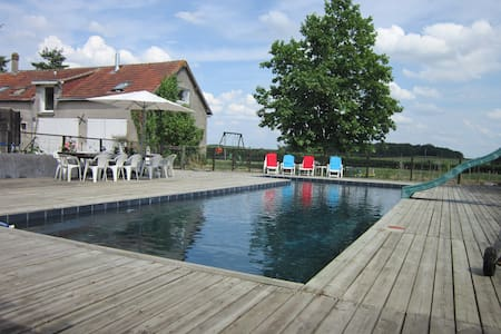 Loire valley home with design pool - Rumah