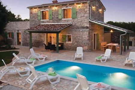 Stone house Villa Ambrogino in Central Istria - Banki - Villa
