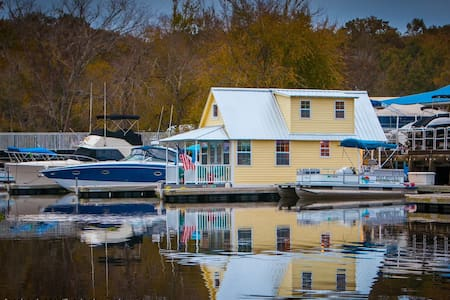 Floating Bungalow Vacation Home - Sanford - Πλοίο
