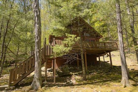 Woodland Cozy Catskills Cabin - Hus