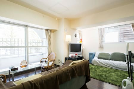 Truly convenient room in down town area B6 - Sapporo - Apartment