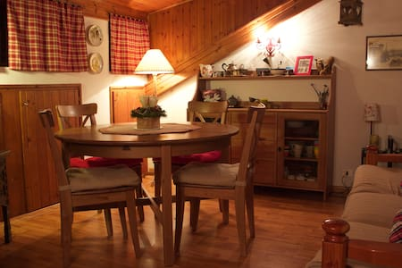 Cozy, quite apt with private access to ski slope! - Lejlighed