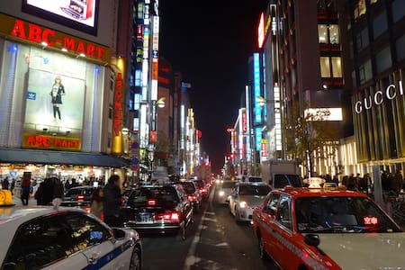 Shinjuku on foot!