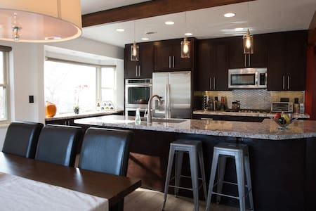 Renovated home with chef's kitchen