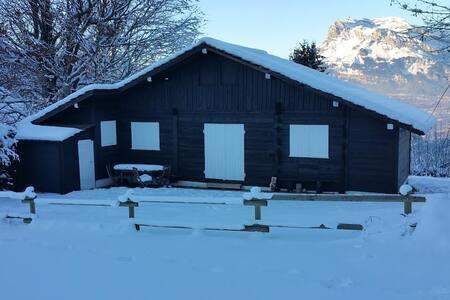 Chalet- St Nicolas de Veroce - Saint-Gervais-les-Bains - Cabaña