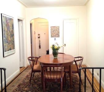 Art Deco Apt - Private room - Apartamento