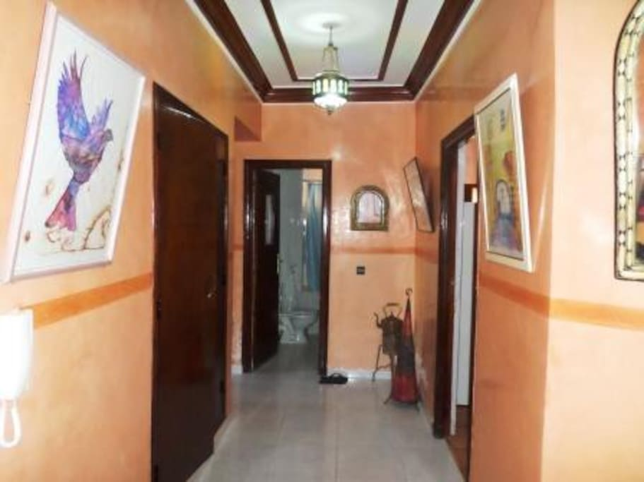 Huge Hall-way