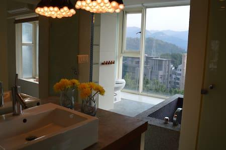 TAIPEI DESIGN APT 01. Taipei 5' MRT Mountain View - Apartment